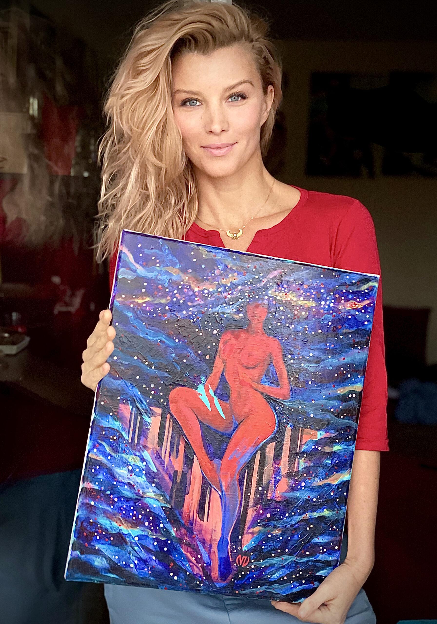 01.40x50-Cosmic-ViorikaZagorowska-ArtForSaleViorika