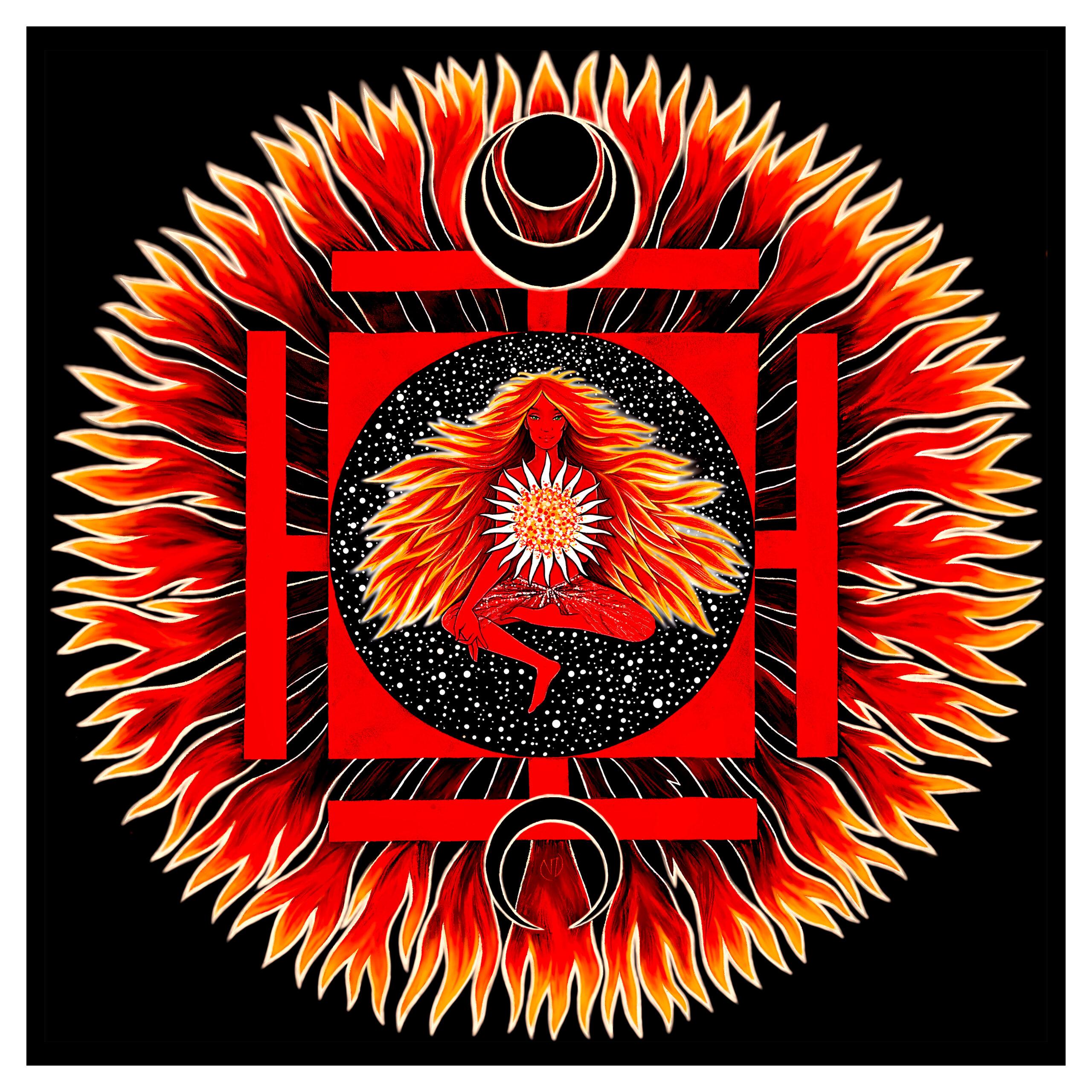 02.50x50-HathaYogini-ViorikaZagorowska-ArtForSale